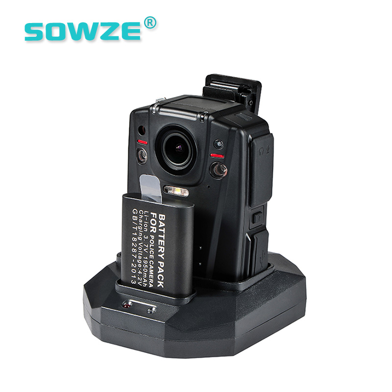 Intelligent Wireless Body Worn <strong>Camera</strong> Built in WIFI module and 16GB Storage for Policeman and Officer