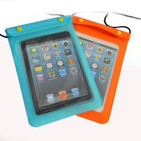 Fashion hot sale pvc waterproof tablet bag for ipad mini