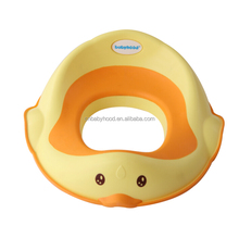 Secure non-slip surface baby plastic toilet ring