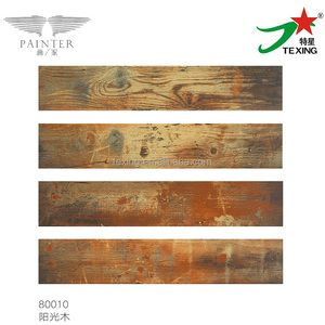 150*800 mm wood look ceramic tiles philippines price with special patterns