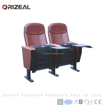Best sale discount price auditorium chair best movie theater seats with writing pad Save money