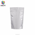 Matte Silver or Gold Ziplock Stand Up Pouch for Product Packaging