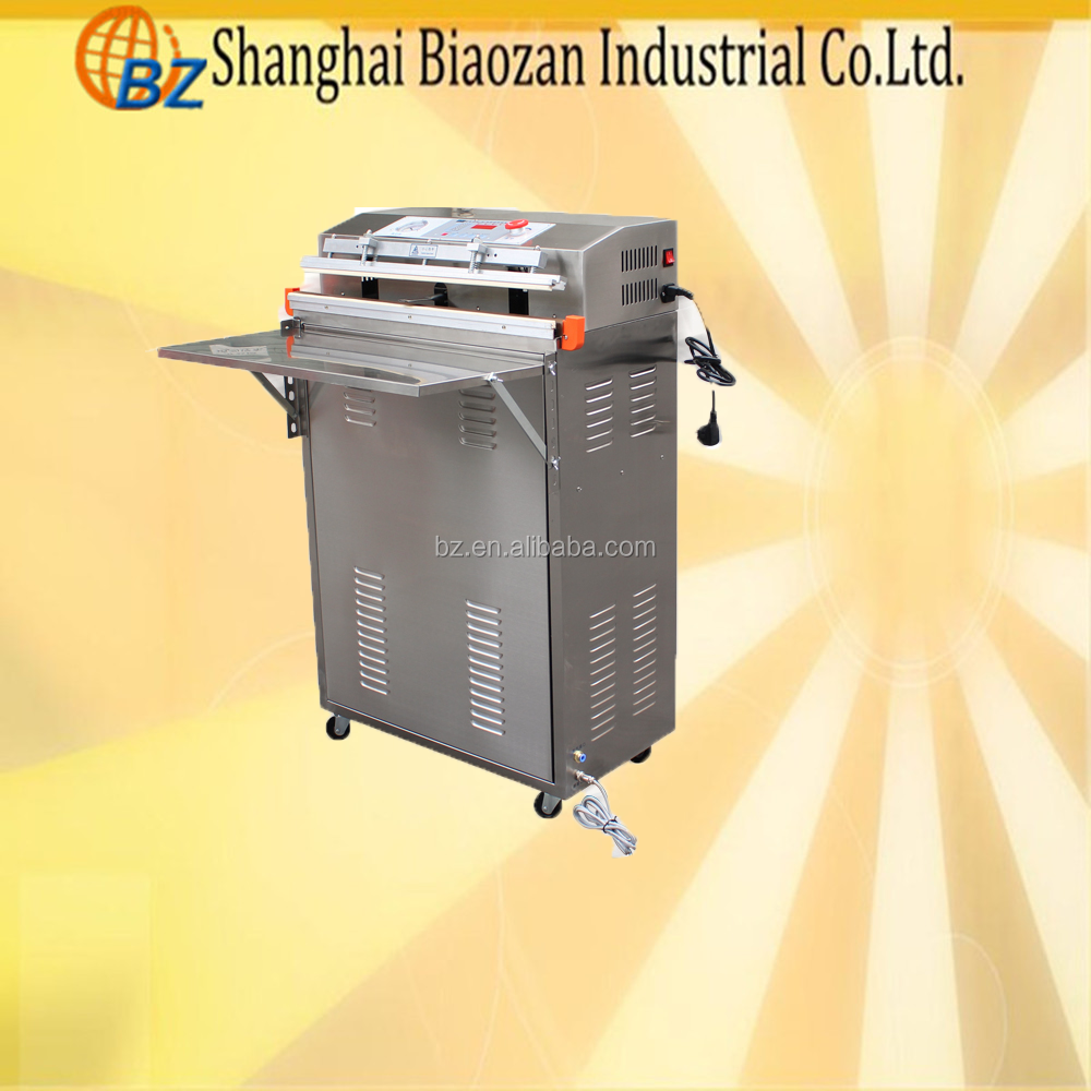 Automatic Single Chamber Food Meat Grains Table Vacuum Sealer Packer Vacuum Packing Machine