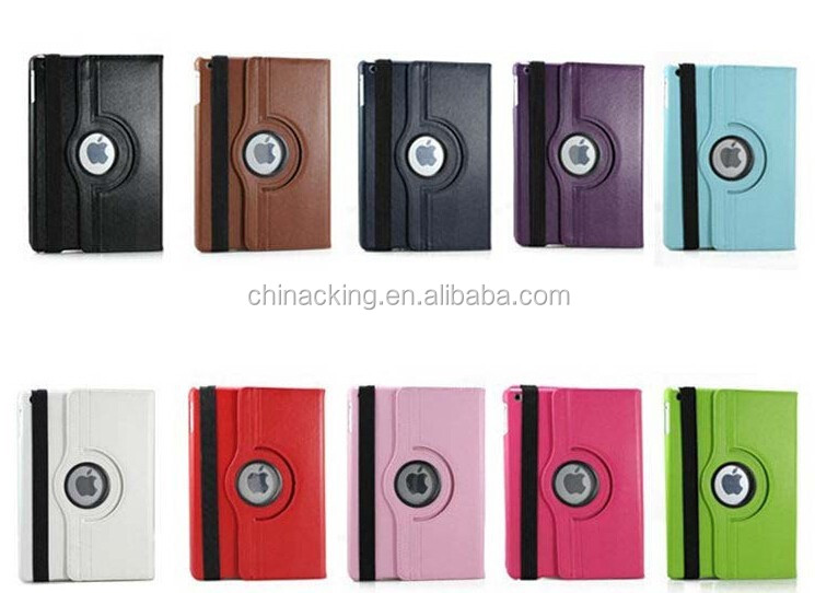 360 degree rotate case for ipad case