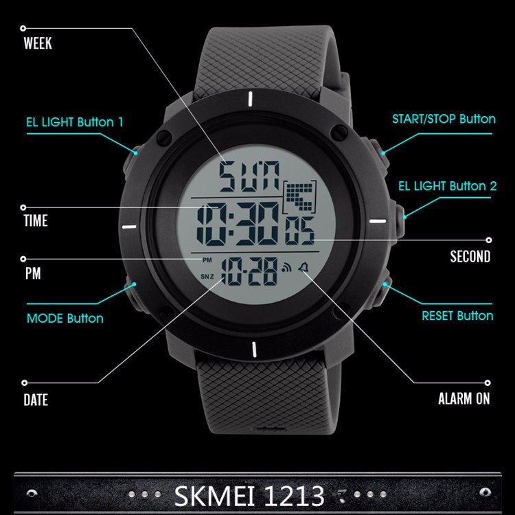 skmei 1213 relojes hombre man watch luxury,new model digital watches men sport waterproof