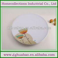 hard plastic dinnerware