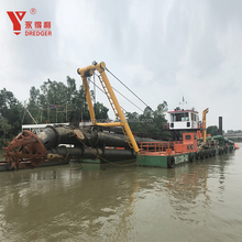 Yongli Dredger Cutter Suction Sand Dredger for sale