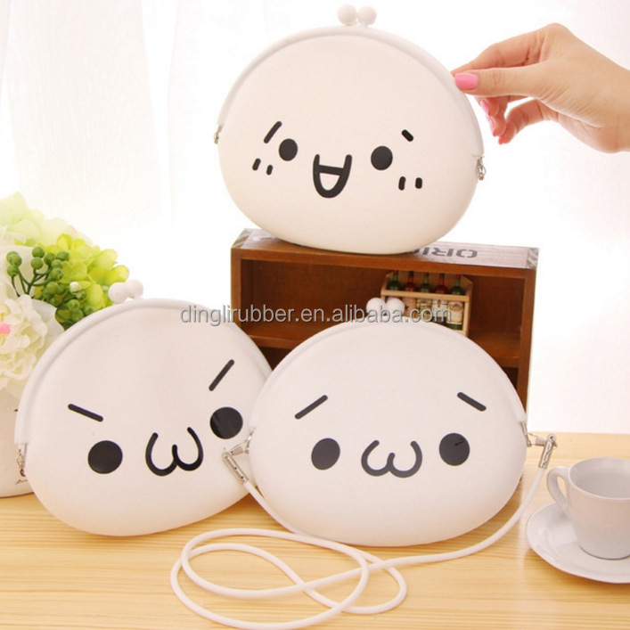 Cartoon Silicone Coin Purse Waterproof Beach Bag