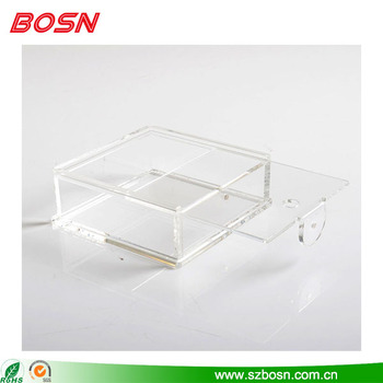 New style beautiful and clear acrylic boxes for sale