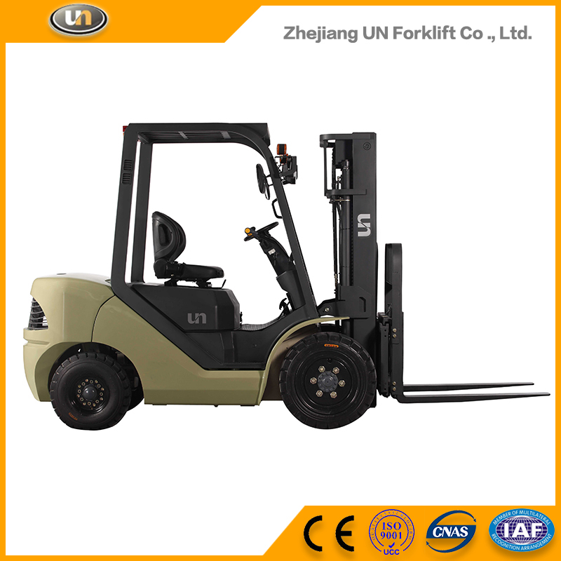 China Made Used 3 Ton Big Capacity Diesel Self Loading Forklift In Uae For Sale