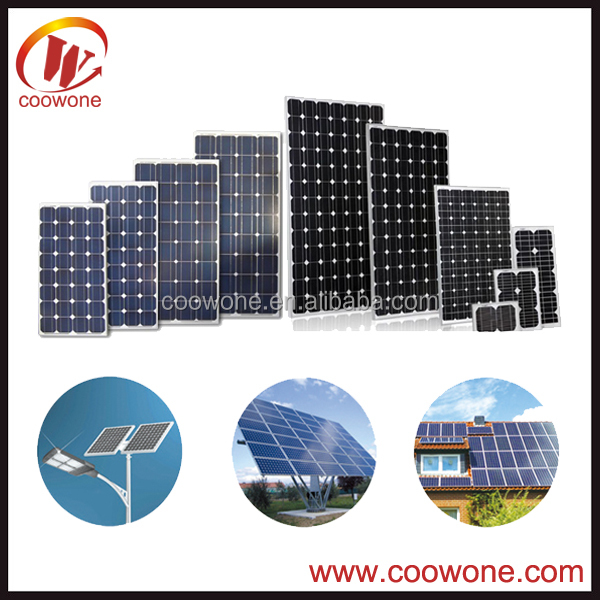 Low cheap price poly 250w import solar panels