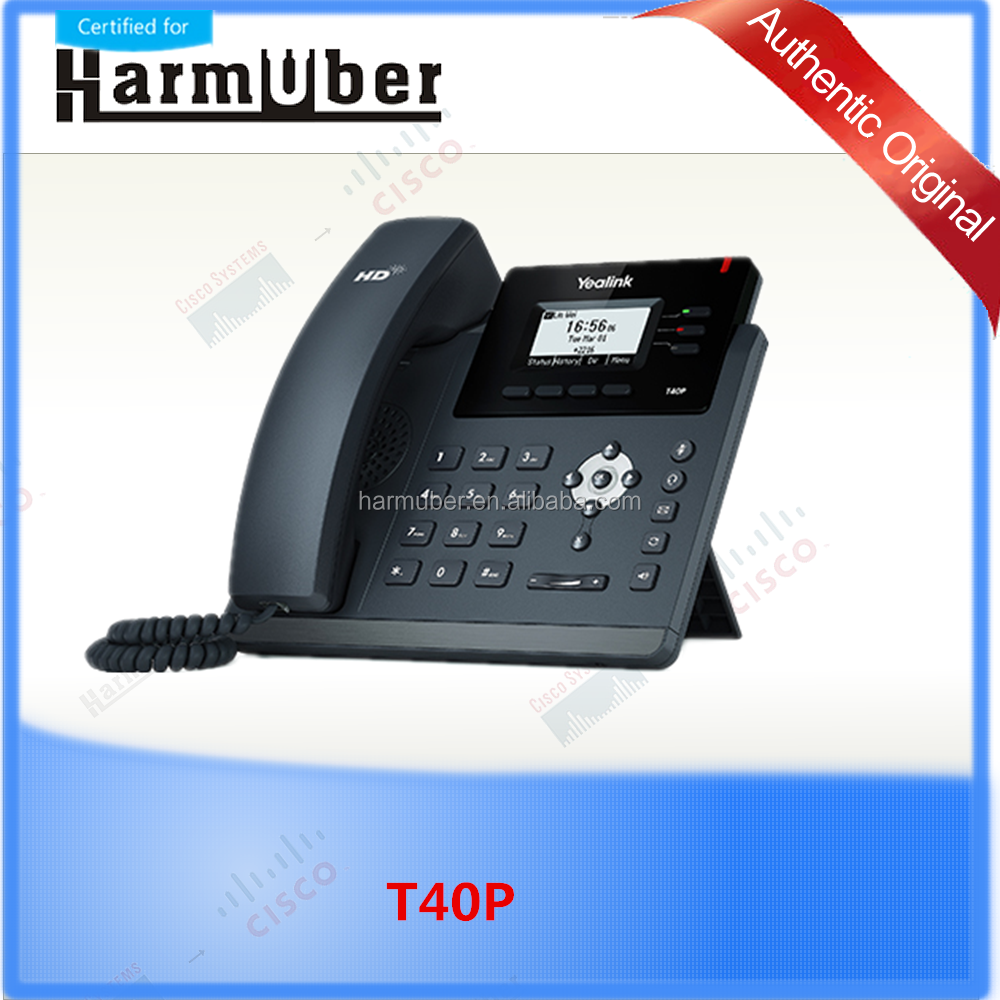 Yealink T40P Skype for Business Edition HD Desktop VoIP Phone