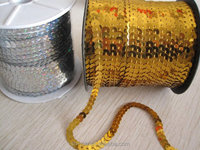 Pet sequin band line sequin roll sequins lace band