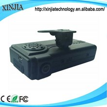 Black box for car driving recorder 2 camera 3G GPS car DVR