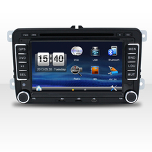 7''screen car dvd player for universal car/vw/bluetooth gps radio swc dvd usb sd aux in ipod