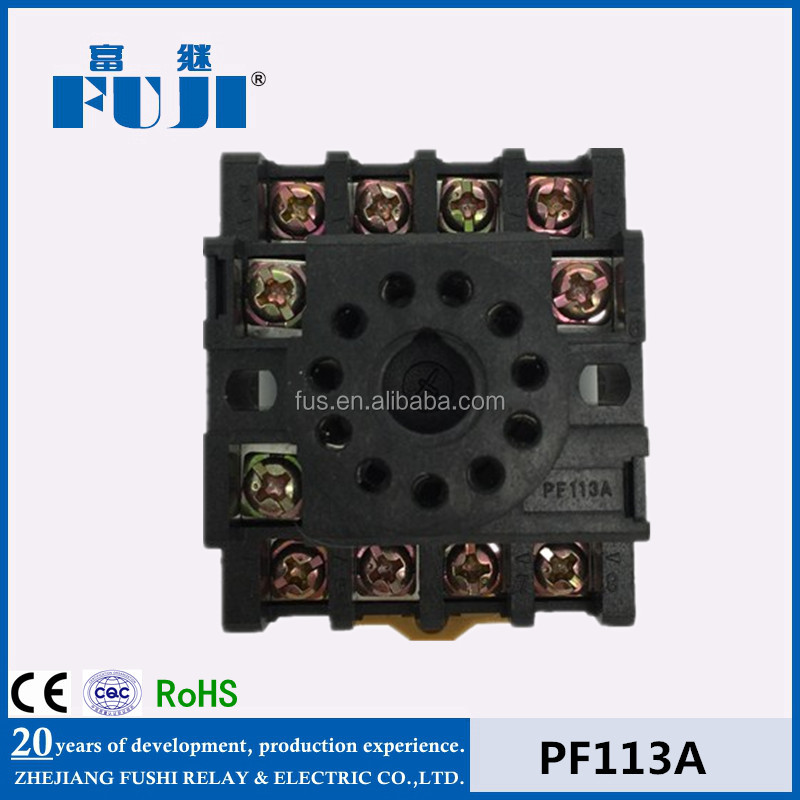 Plug-In Relay Socket/Omron Relay Socket/Electriccal Relay Socket PF113A
