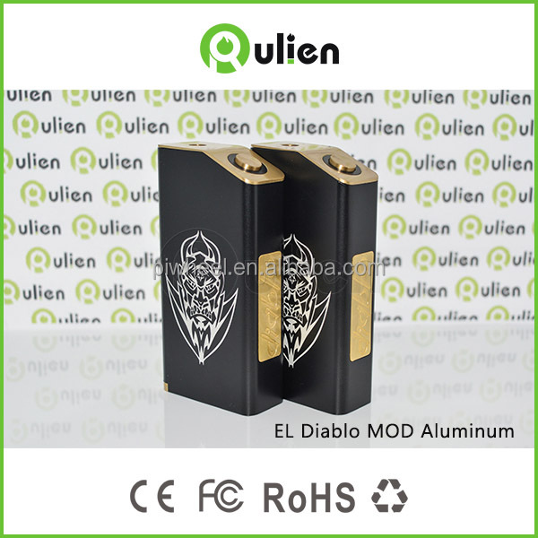 2015 el diablo copper/bronze /brass /al/black colors el diablo / el diablo box mod