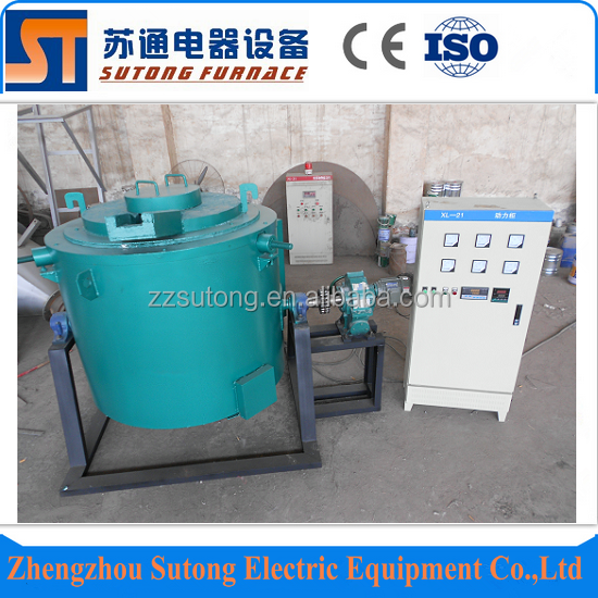 100kg 1500C electric heat glass melting furnace