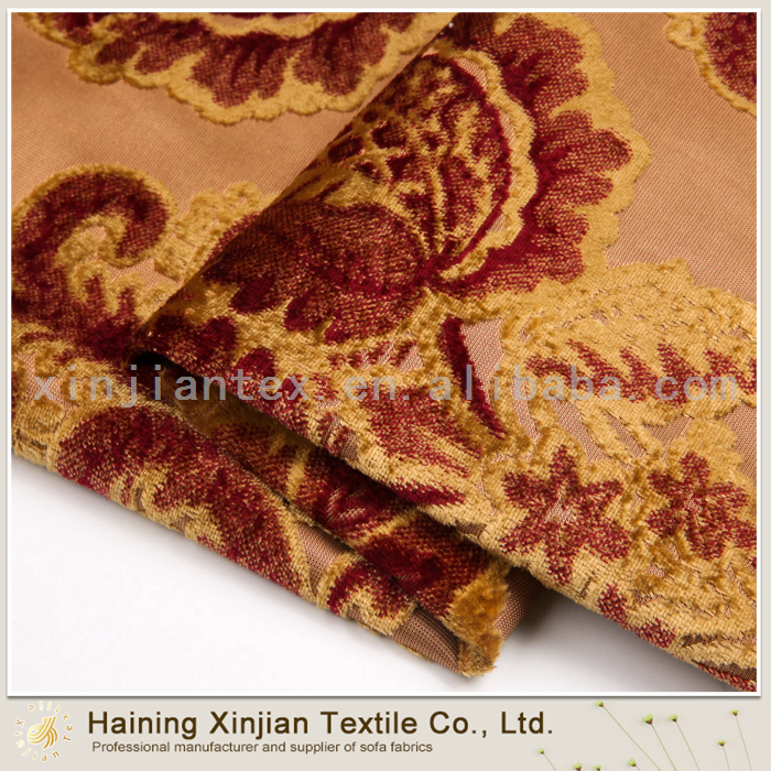 Wholesale Fashion fabric crushed velvet