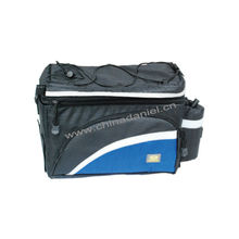 Black Saddle Pouch Rear Seat Bicycle Bag Waterproof
