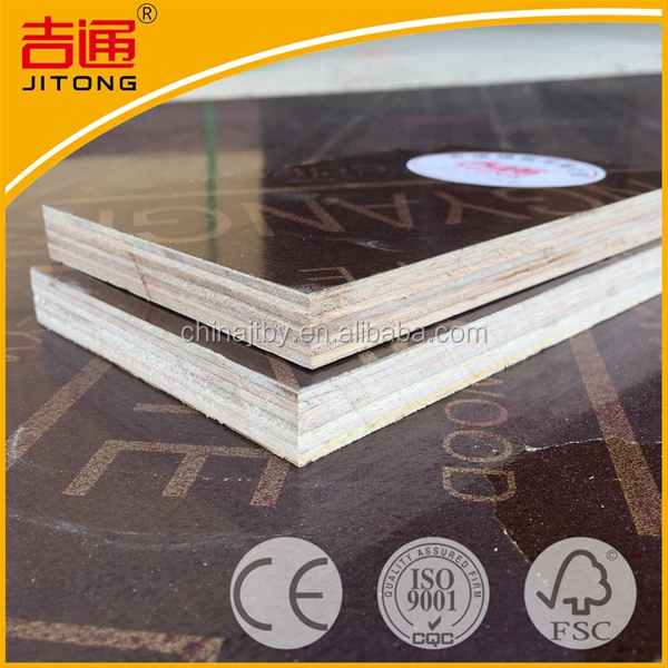 Full Sizes Phenolic Brown Film Faced Plywood hardwood factory price