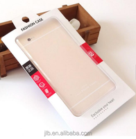 PVC leather phone case packing box / phone accessories mobile case paper packaging