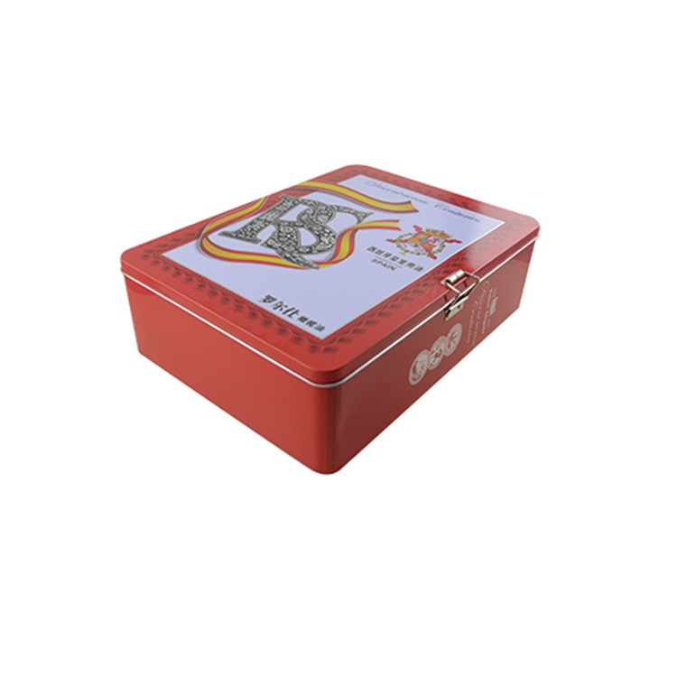 custom printed food packaging box with handle pizza box