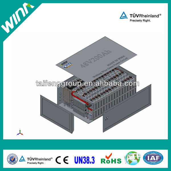 electric vehicle battery 48v 100ah lifepo4 battery pack for staring power