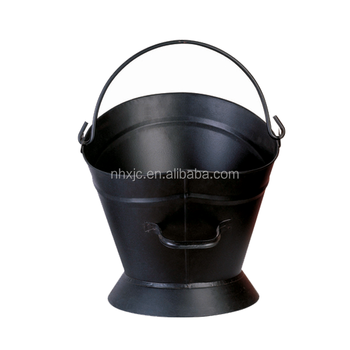 Steel bucket, ash bucket black coal hod