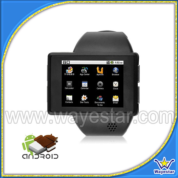 OEM smart reloj telefono 2.0 inch watch phone with wifi 1g ram 4g rom andriod 4.0