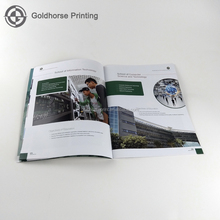 Professional Company color brochure booklet flyer leaflet printing in China