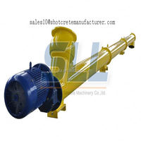 Equipped with central lubrication system screw conveyor manufacturer for silo cement