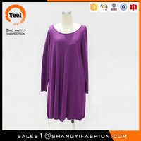 YEEL clothing manufacturers overseas fashion style Warmth knitting loose ladies smart casual dress