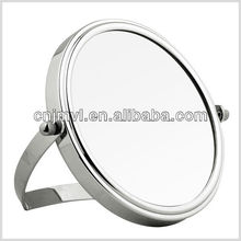 makeup round shaped cosmetic mirror compact
