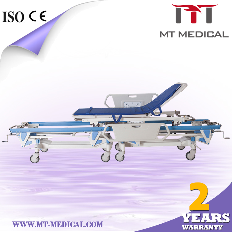 Hopspital Ambulance patient transfer device Smedicine trolley hospital recliner medical chair bed