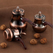 100% Brand new and high quality eco-friendly bronze color new coffee warmer set