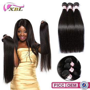 XBL 2015 Best Selling Top Grade 100% Indian Hair Virgin Indian Hair