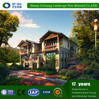 2016 Hot Sell New Technology Strong and Durable prefabricated timber frame house