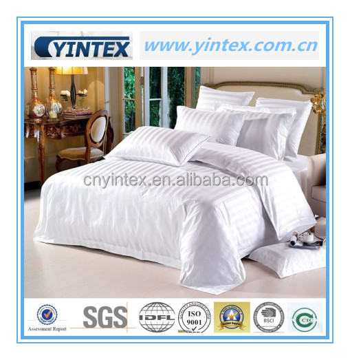 Wholesale 100% Cotton Full Queen King Size Pure 40S Satin Weave Comforter Bedding Set