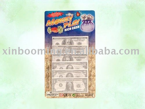 US Dollar Money Play Set,play money