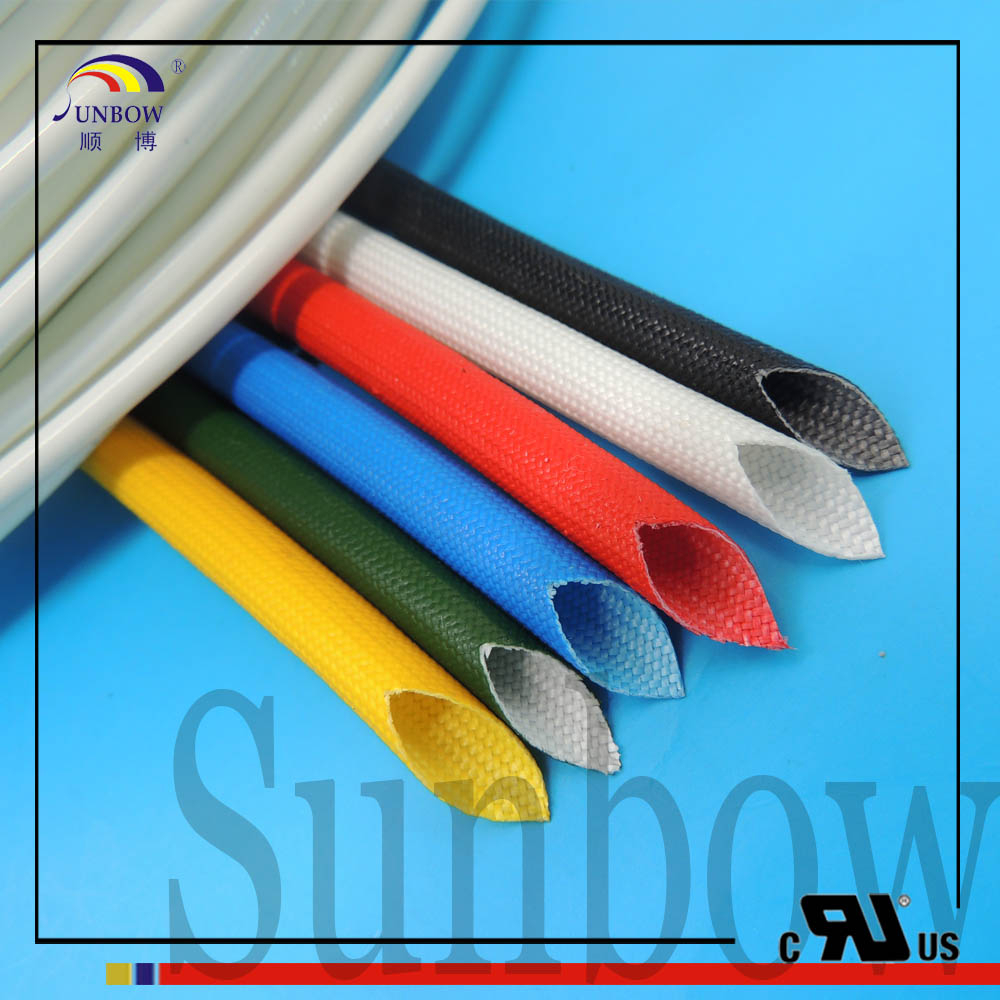 SUNBOW Insulated Sleeving Fiberglass Protective Sleeving Suppliers