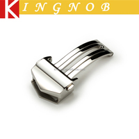 18mm sliver deployment stainless steel watch bands clasp watch deployment clasp in stock