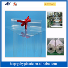 Super clear transparent soft pvc cover plastic sheet for packaging and printing