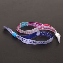 Creative new fabric wristbands promotional item one time use