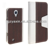 For samsung galaxy s4 19500 case,New arrival wallet leather case for samsung galaxy s4