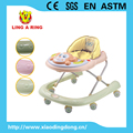 2017 new Ustyle european standard musical and flashing monkey face baby walkecanopy and pushr with bar