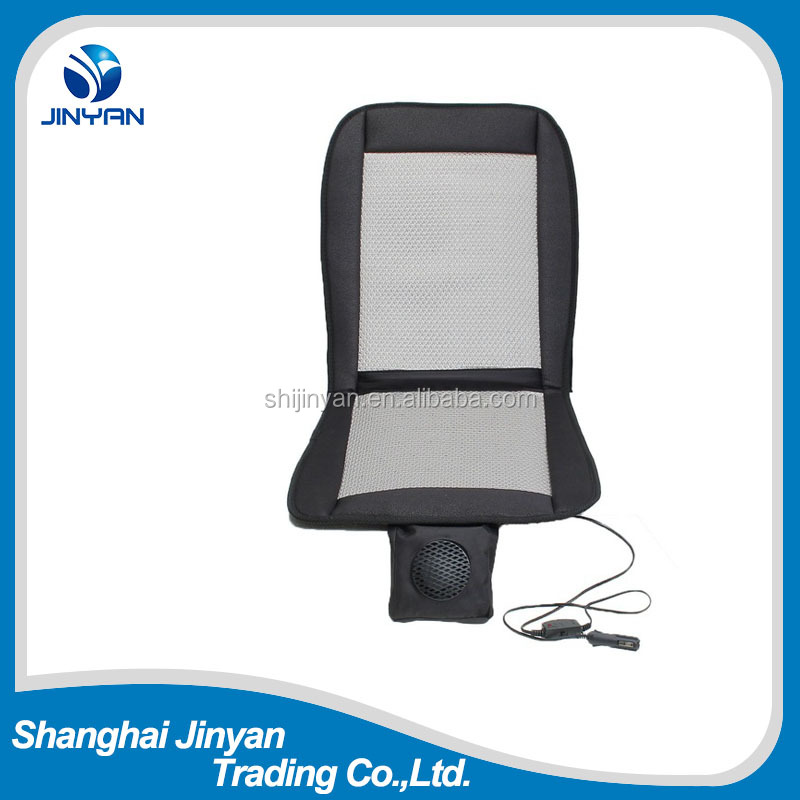 12V Polyester Cooling Cushion Car Seat, Adult Car Seat Booster Ventilater Cushion,Car Breathable Seat Cushion Brushless With Fan