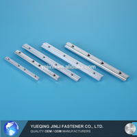 straight line connector t-slot aluminum block profile connector