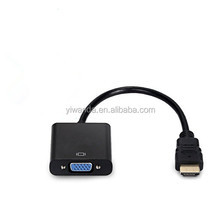 HDMI Adapter HDMI Cable Male VGA Converter Female HDMI TO VGA 1080P with Audio Port