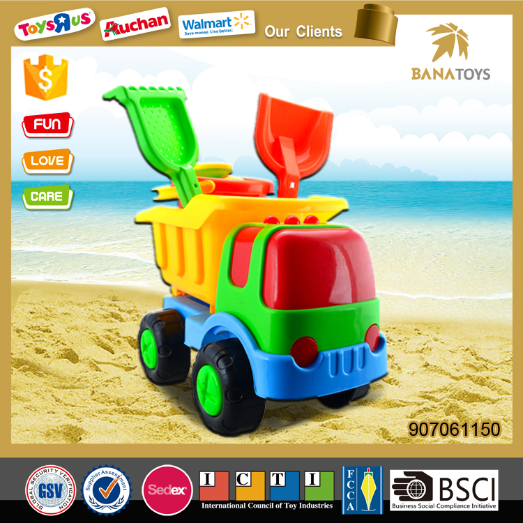 Hot Sale Beach Toy with Car and Shovel
